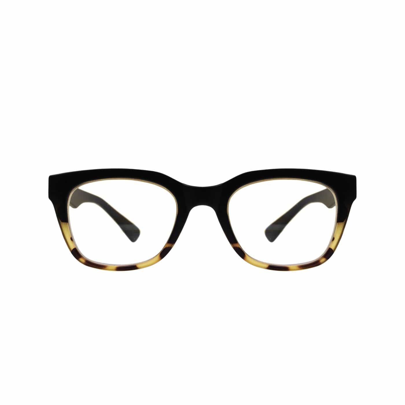 Millie Matte Black Tortoise Blue Light Blocking Reading Glasses