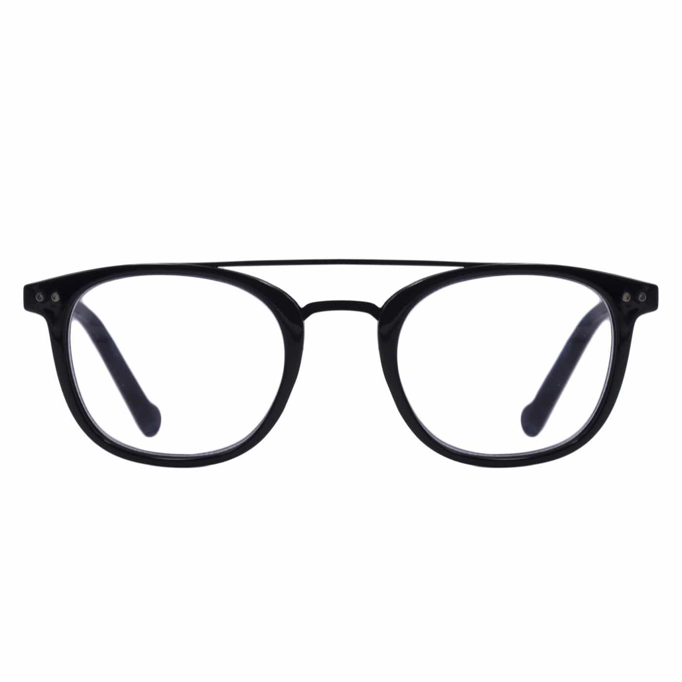 Milton Blue Light Blocking Reading Glasses - Black