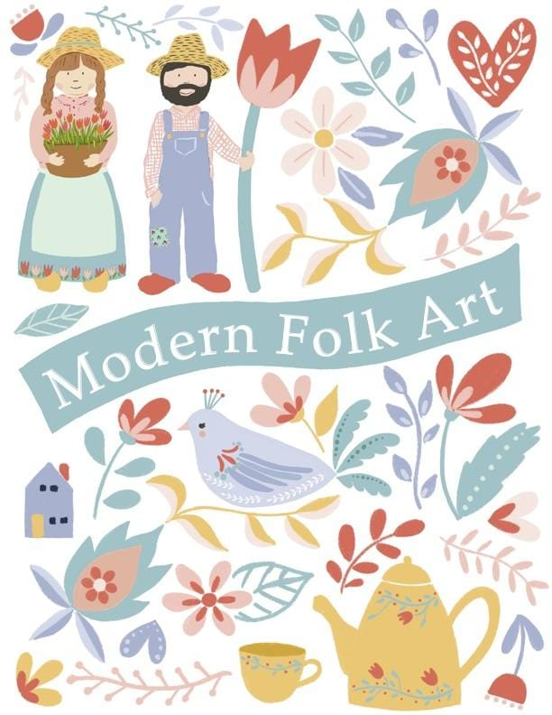 Modern Folk Art Workshop - 2/21/20