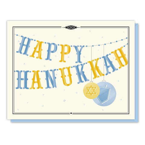 Happy Hanukah single card