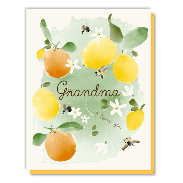 Grandma Citrus Card