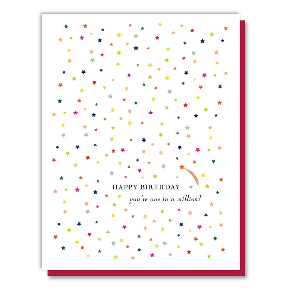 One in a Million Birthday Card