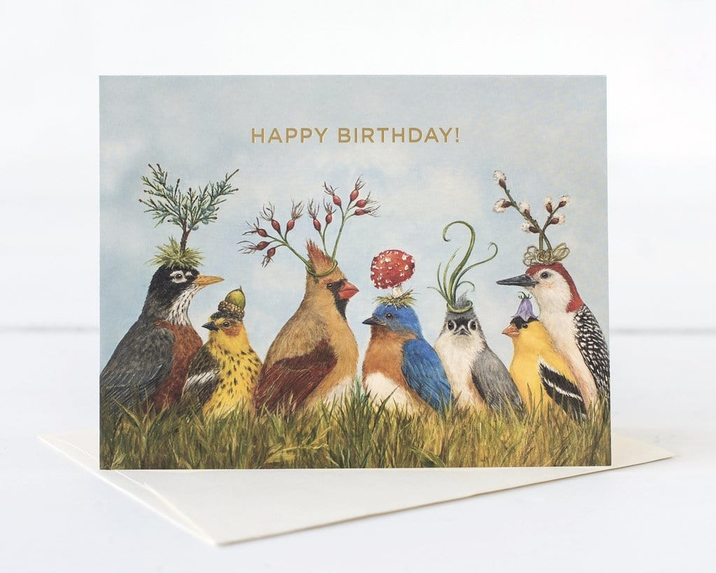 Angies Bird Happy Birthday Card Paper Luxe