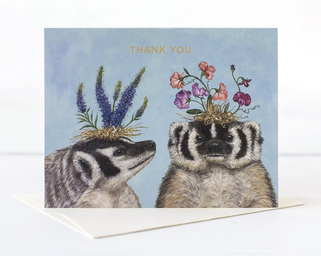 Thank You Badgers Card