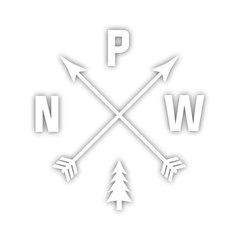 Pacific Northwest Sticker - Chrome Foil