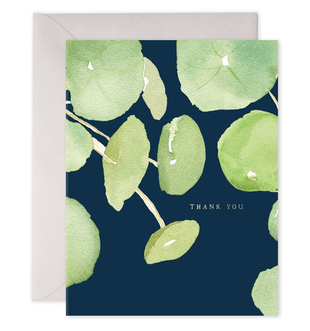 Pancake Plant Thank You Card