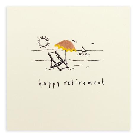 Retirement Pencil Shavings Card