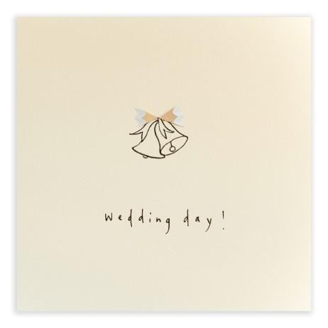 Wedding Bells Pencil Shavings Card