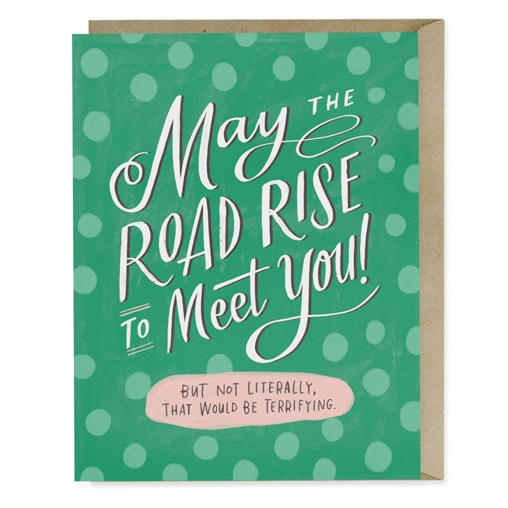 Road Rise To Meet You Card