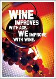 Wine Improves With Age Birthday Card