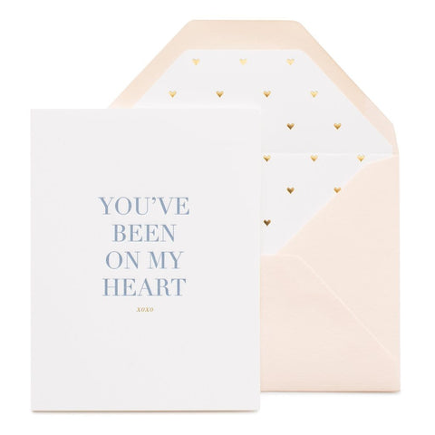You've Been on My Heart Card