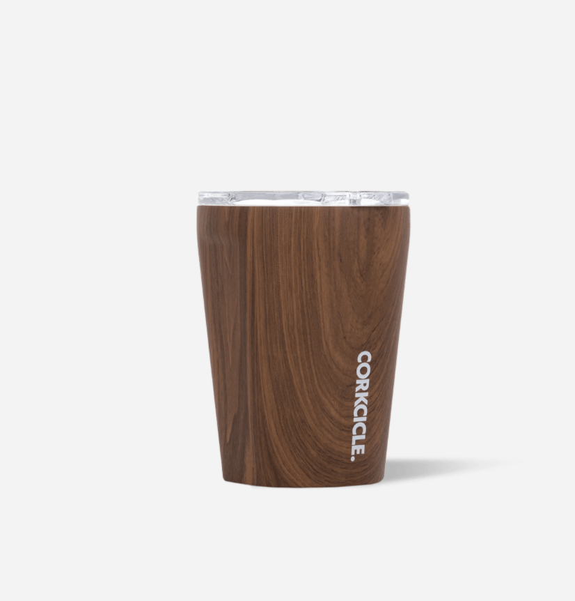 Walnut Wood Corkcicle Everyday 12 oz Tumbler