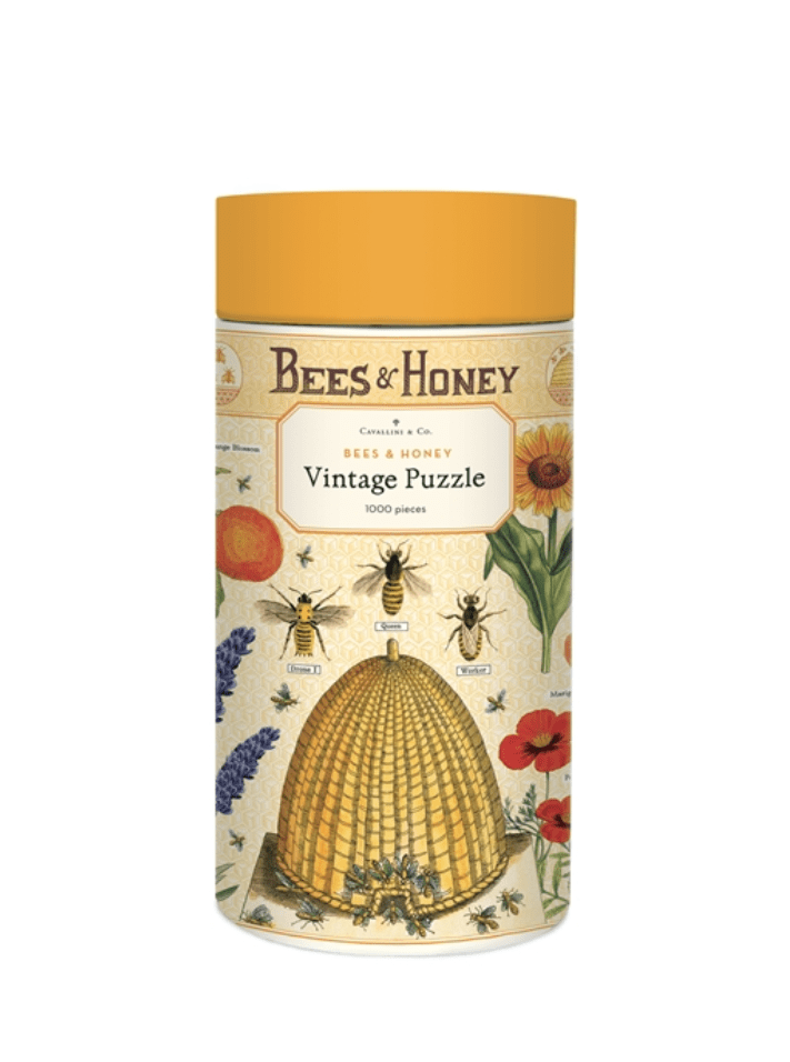 Cavallini & Co Bees & Honey 1000 Piece Puzzle