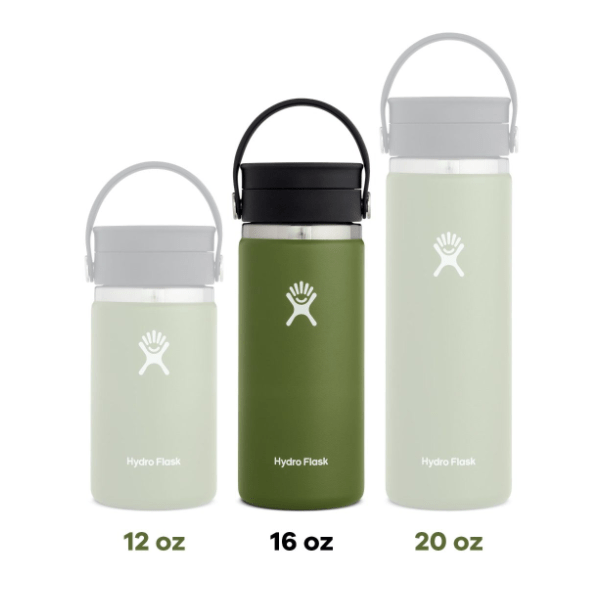 16 oz. Wide Mouth Coffee Hydro Flask - Fog