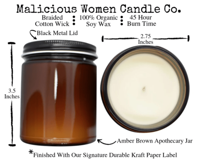 I Promise to Never Refer to Your Cancer As A Mother F'n Journey Candle