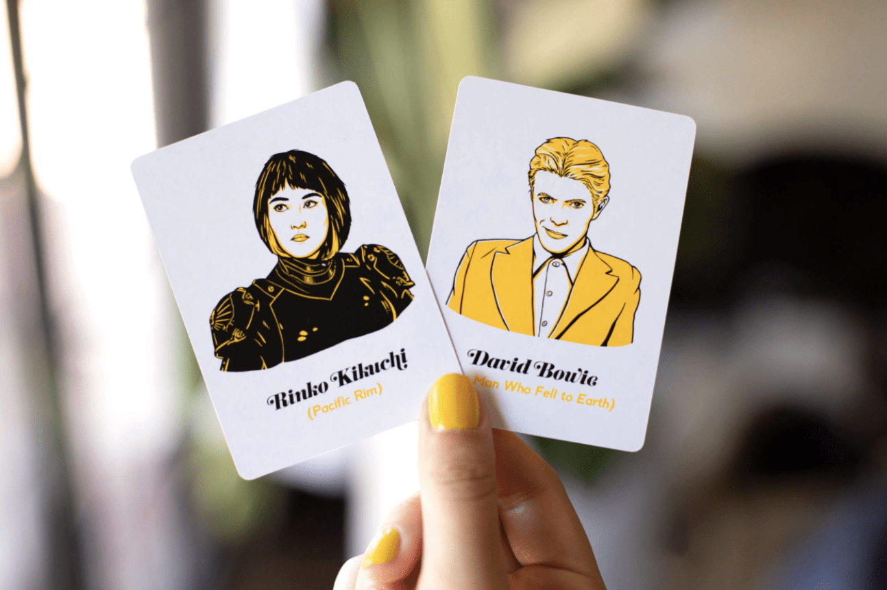 Cinephile: a card game for film nerds, movie geeks & cinephiles