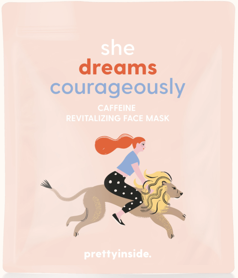 She Dreams Courageously Mask
