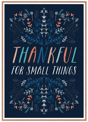 Small Things Card