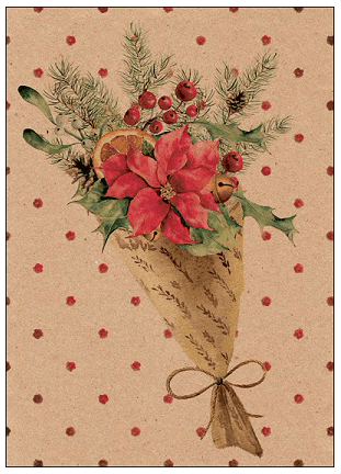 Christmas Bouquet Card