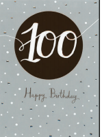 Happy (100th) Birthday