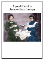Cheaper Than Therapy Card