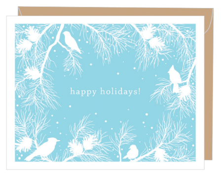 Winter White Boxed Card Set