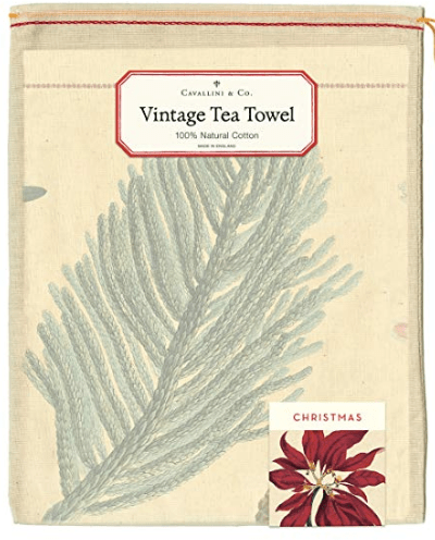 Cavallini & Co Vintage Christmas Tea Towel
