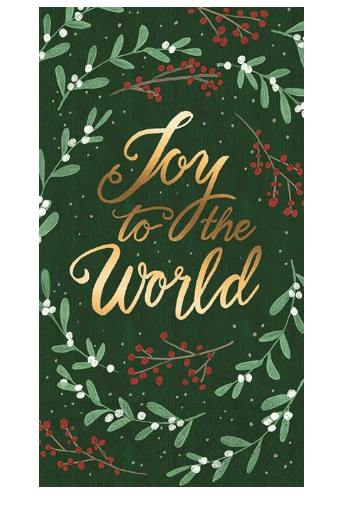 Joy To The World Guest Napkins