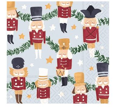 Sugarplum Christmas Beverage Napkins