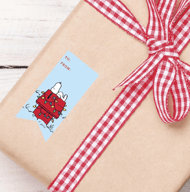 Peanuts Gift Labels