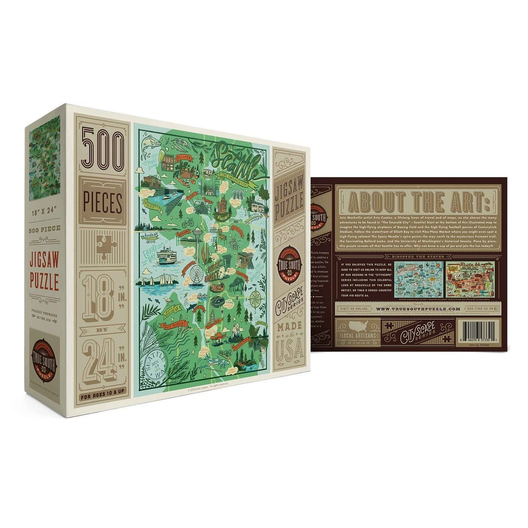 Seattle 500 Piece Puzzle