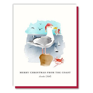 Seagull Santa Boxed Card Set
