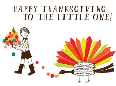Happy Thanksgiving to the Little One card