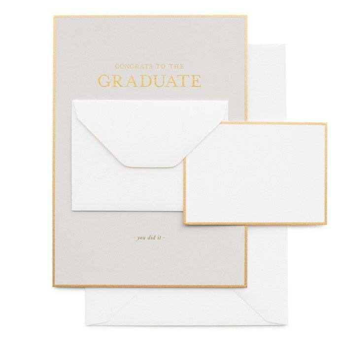 Tiny Graduate Message card