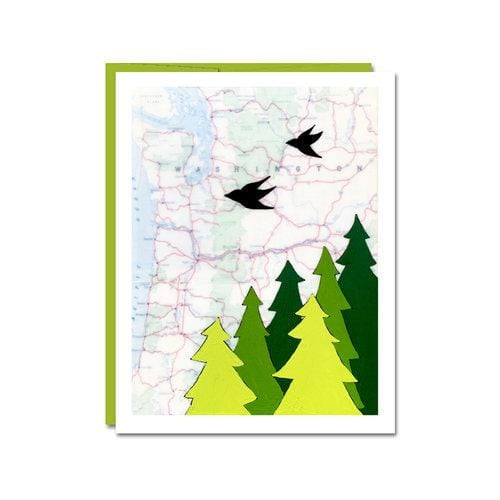 Washington Notecard