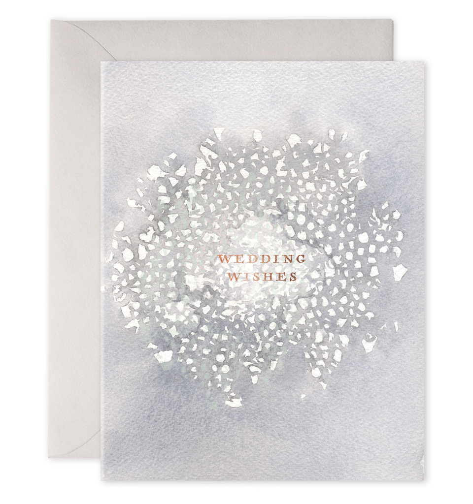 Wedding Wishes Card Paper Luxe