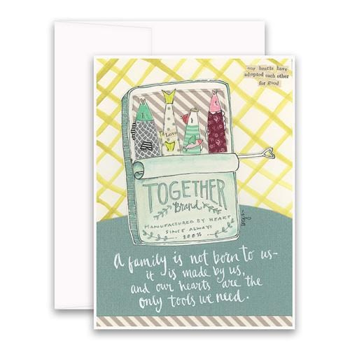 Heart Family Greeting Card