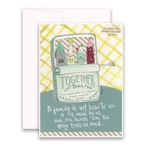 A Family Is Made By Us Greeting Card