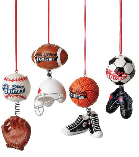 All Star Sport Ornament - 4 Styles