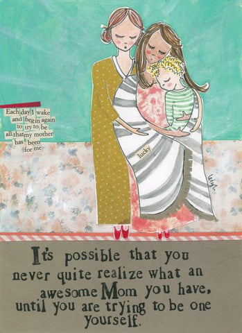 Awesome Mom CARD