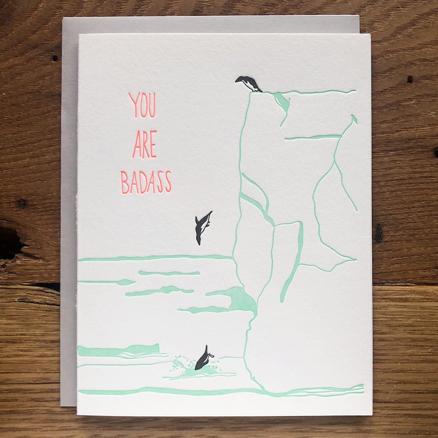 You Are Badass Card