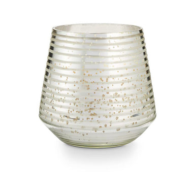 Balsam & Cedar Small Mercury Etched Glass Candle