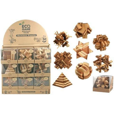 Bamboo Puzzle Assortment