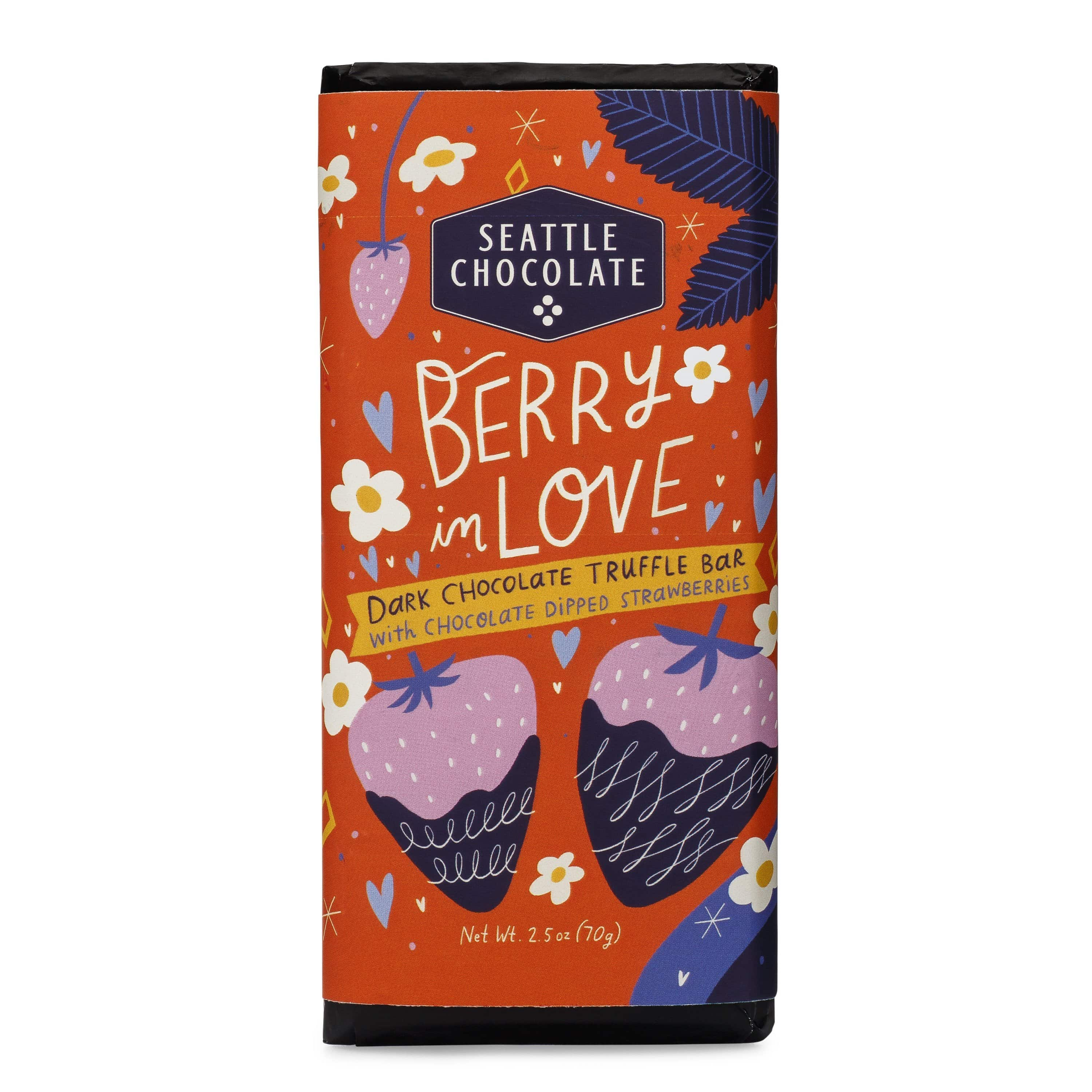 Berry In Love Dark Chocolate Truffle Bar