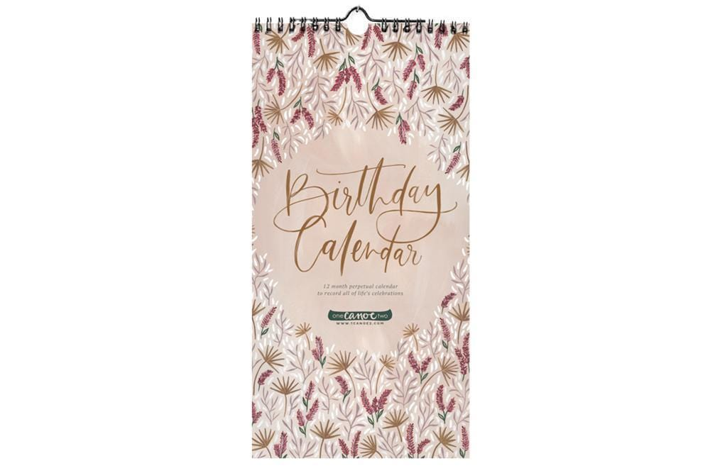 Meadow Perpetual Birthday Calendar