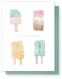 Birthday Popsicles Card