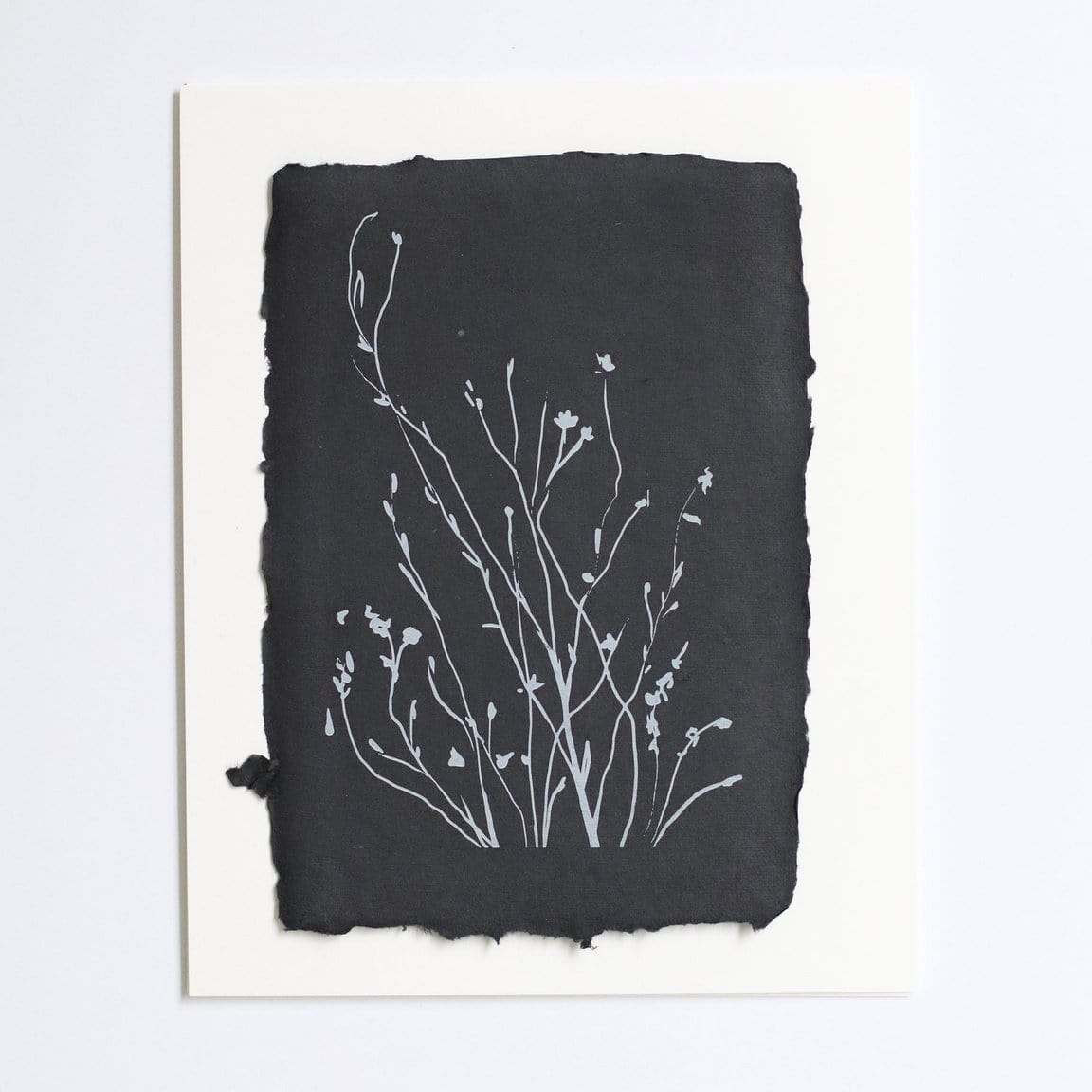 Wild Flowers Raw Edge Print - Single