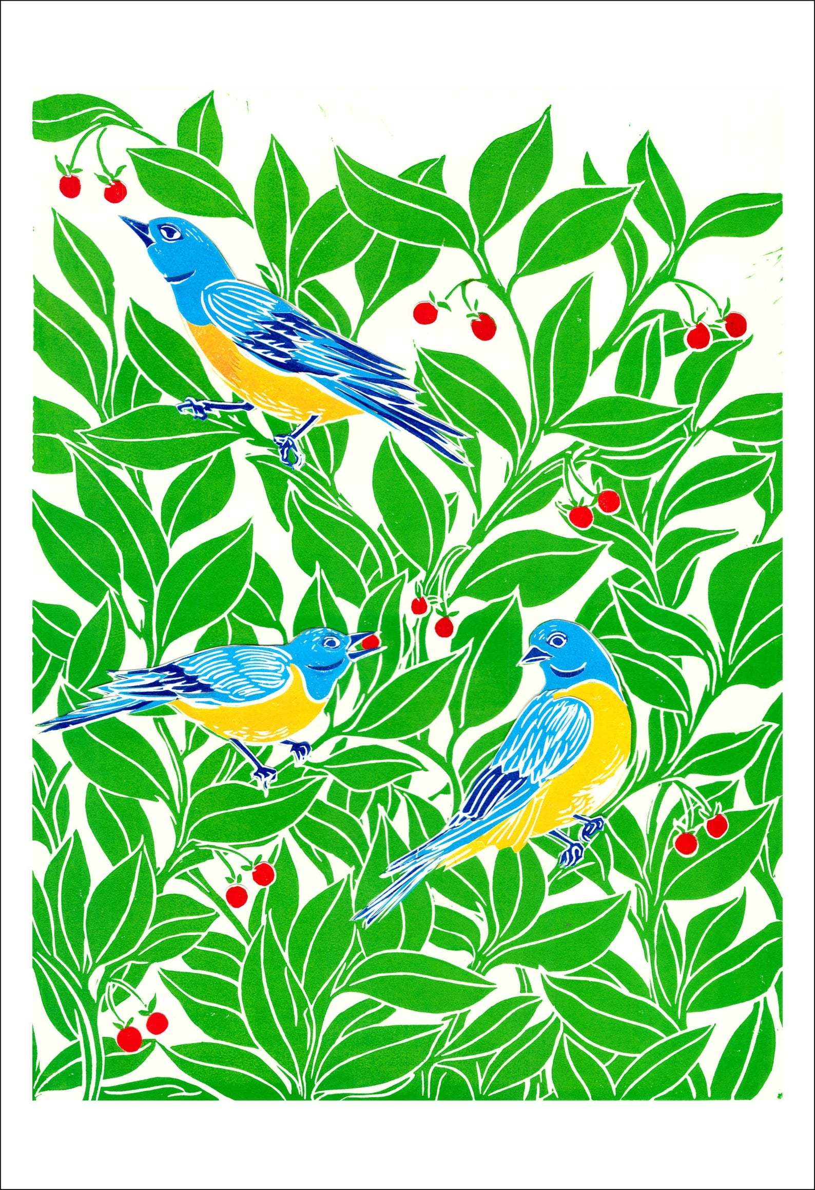 Blue Bird Day Card