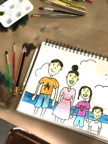 Family Portraits - Parent & Child Workshop - June 10, 2018