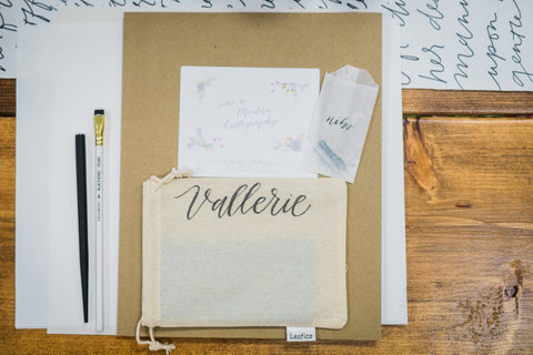 Introduction to Modern Calligraphy - June 9, 2018